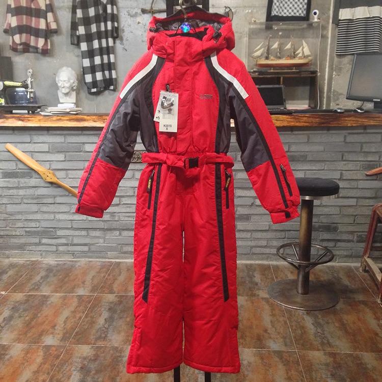 Prix pour Adolescents hiver coupe - vent extérieur étanche 1 peça ski veste garçons et filles chaud épais snowboard costume, Livraison gratuite