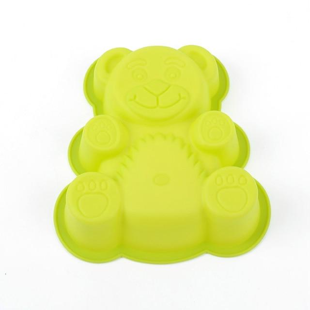 1 PCS Attrezzi Della Torta Della Muffa Del Silicone Gummy Bear Muffe Del Cioccol