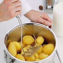 Новинка, нержавеющая многофункциональная Картофелечистка, давилка для яиц, форма для овощей, фруктов, дробилка, кухонный инструмент