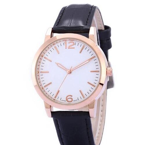 Watches Men Top Brand Luxury Retro Design PU Leather Band Analog Alloy business clock Quartz Wrist Watch woman s retro flower dial analog quartz wrist watch w pu leather band yellow brass 1 x 377