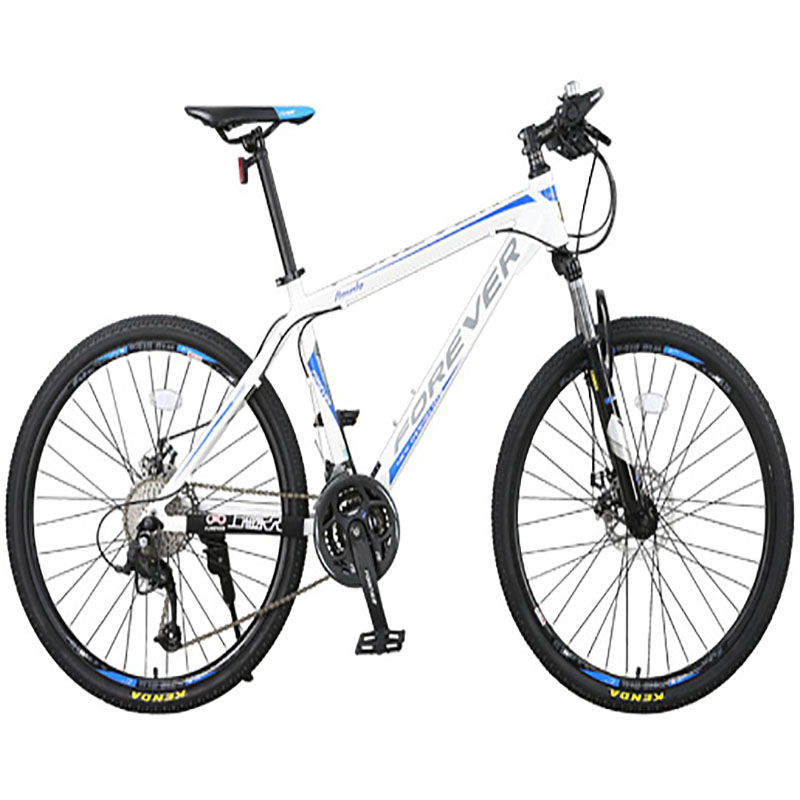 Mountain Bike Male Students High Carbon Steel Frame Double Disc Brake 24 Speed 26 Inch Wire Disc For Teenagers Variable