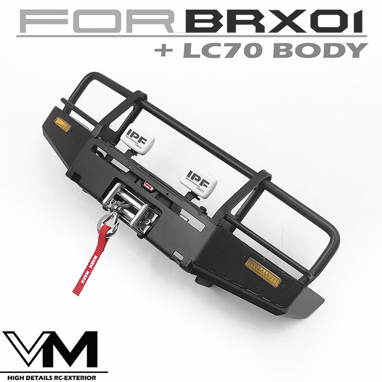 ARB Metal Front Bumper for Boomracing BRX01 Killerbody LC70 body
