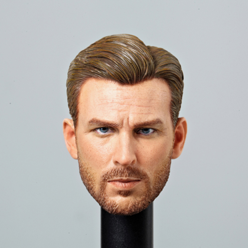 1/6 Scale Normal Version Male Head Steve Rogers for 12'' Male Bodies trendy beads anchor decorated bracelet for women