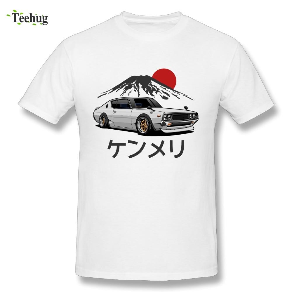 Graphique homme Voiture RTM T-Shirt Skyline Voiture Japonaise De Marque Élégant T-Shirt En Gros D'été Streetwear Camiseta
