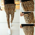 Male 9 casual leopard print harem pants skinny pants male trousers men's stage singer costumes