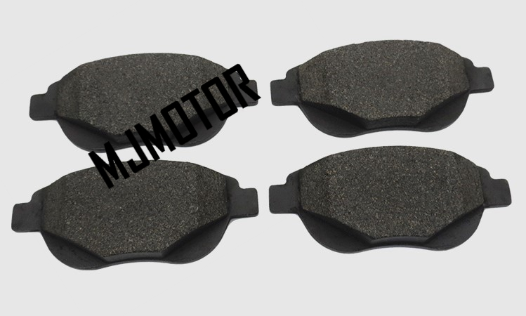 Front Brake pads set auto car PAD KIT-FR DISC BRAKE for Citroen C1 C4L PEUGEOT 307 Automobile part цены