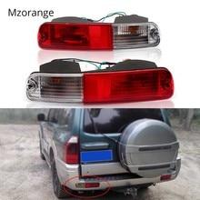 Задний бампер сигнальная лампа фонарь отражатель для Mitsubishi 2003 2004 2005 2006 2007 Pajero Montero V73 V75 V77 2003 2004-2006