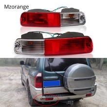 Signal Tail Light Reflector For Mitsubishi 2003 2004 2005 2006 2007 Pajero  Montero V73 V75 V77 2003 2004-2006 Rear Bumper Lamp arashi for bmw r1200gs 2004 2007 e mark brake turn signal tail light rear tail light led light r 1200gs r1200 gs 2007 2006 2005