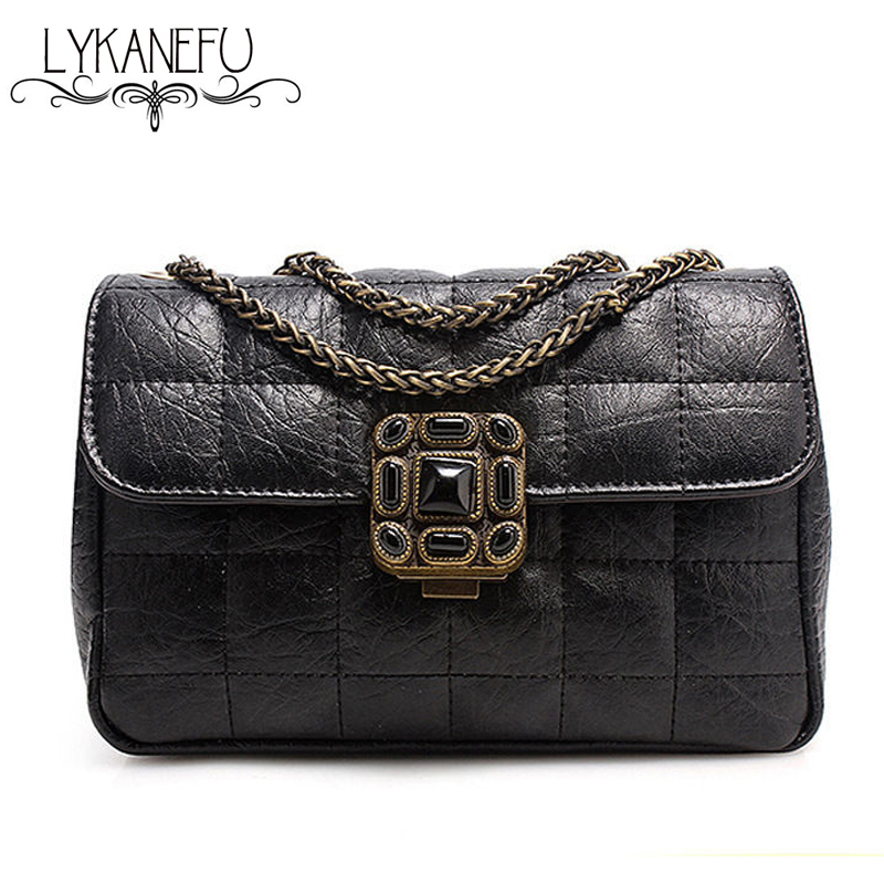 2017 Vintage Bag Ladies Shoulder Bags Handbags Women Messenger Bags Fashion Designer Brand Handbag Purse Sac a Main Dollar Price