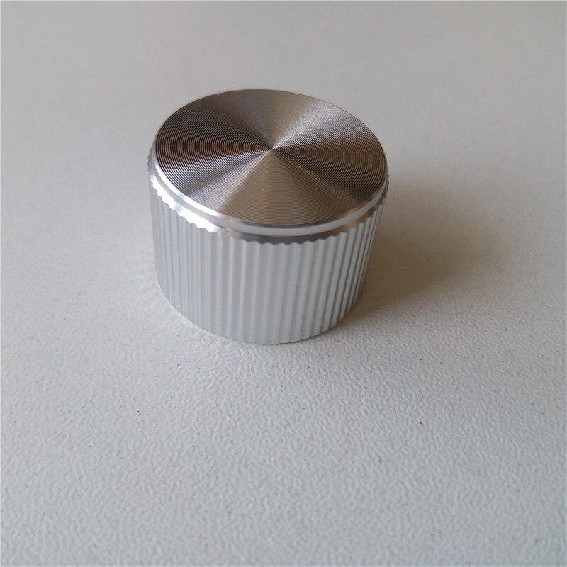 Trend Mark 5pcs Aluminum Knob Potentiometer Knob 25*17*6mm Potentiometer Cap Volume Knob Amplifier Tube Knob Switch Cap Encoder Quell Summer Thirst