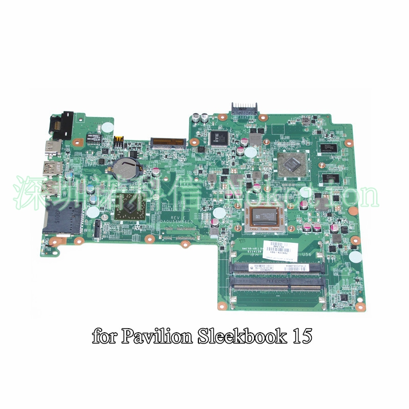 NOKOTION DA0U56MB6E0 709176-501 709176-001 For HP Pavilion Sleekbook 15 laptop motherboard A8-4555M CPU A70M MARS 1G DDR3