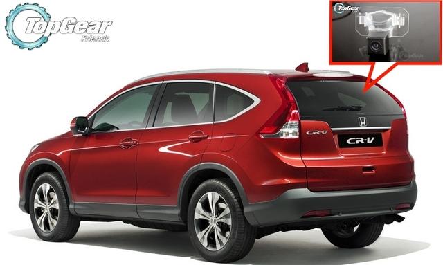 Câmera do carro Para HONDA CRV Para CR-V Para CR V de Alta Qualidade Rear View Camera Back Up Para Top Gear Fãs Uso | CCD + RCA