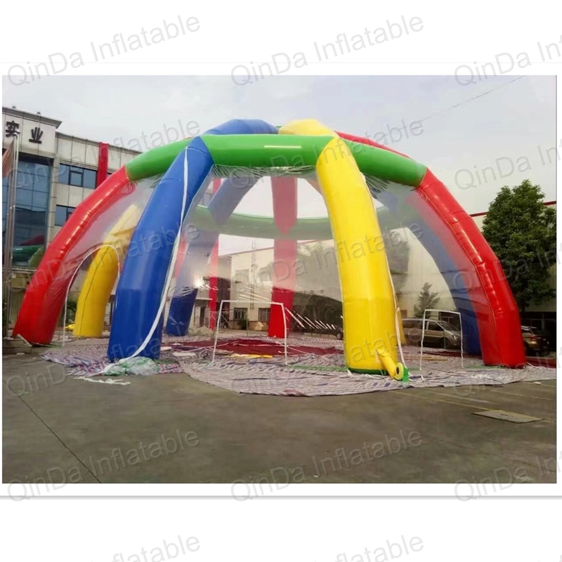 Hot sale colorful inflatable dome tent, Tranpasrent inflatable marquee, inflatable igloo tent for events ao058m 2m hot selling inflatable advertising helium balloon ball pvc helium balioon inflatable sphere sky balloon for sale