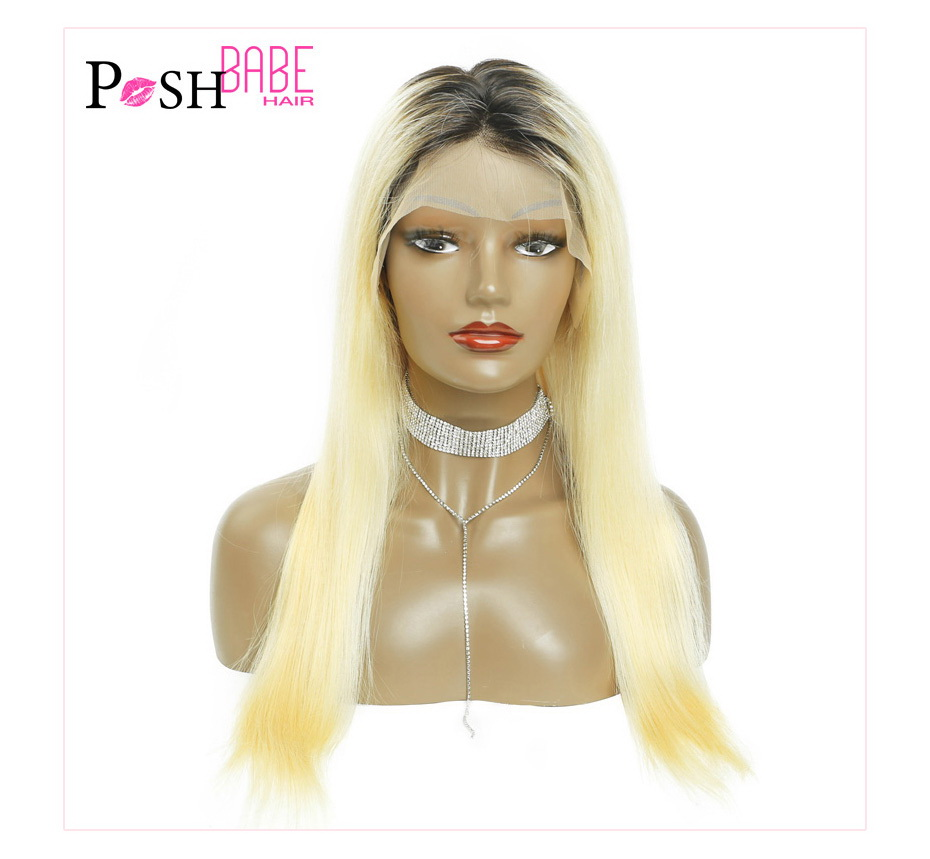 Blonde Lace Front Human Hair Wig (7)
