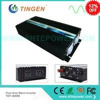 Fedex freeshipping! 2500W /2.5kw Off Grid Pure Sine Wave Power Inverter, 5000w/5kw Peak power inverter, Solar&Wind Inverter