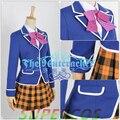 Free Shipping! Shokugeki No Soma Erina Nakiri Girl Uniform Cosplay Costume ,Perfect Customized For you!