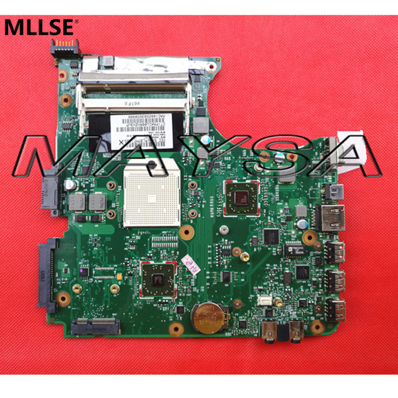 538391-001 laptop Motherboard Suitible For HP Compaq 515 615 CQ515 CQ615 Notebook PC main board , DDR2  SOCKET S1 original 615842 001 motherboard fit for hp cq32 g32 series notebook pc main board 100% working