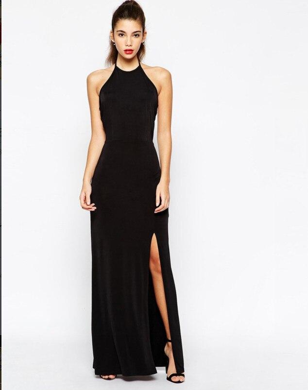 Aliexpress.com : Buy Summer Dress 2015 Plus Size Long Black Maxi ...