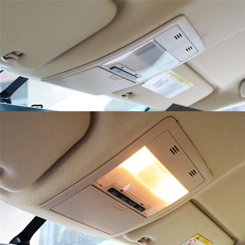 Для Toyota Land Cruiser 2016, автомобильный Стайлинг, светильник для чтения, панель, накладка, рамка, наклейка, аксессуары для интерьера - 4