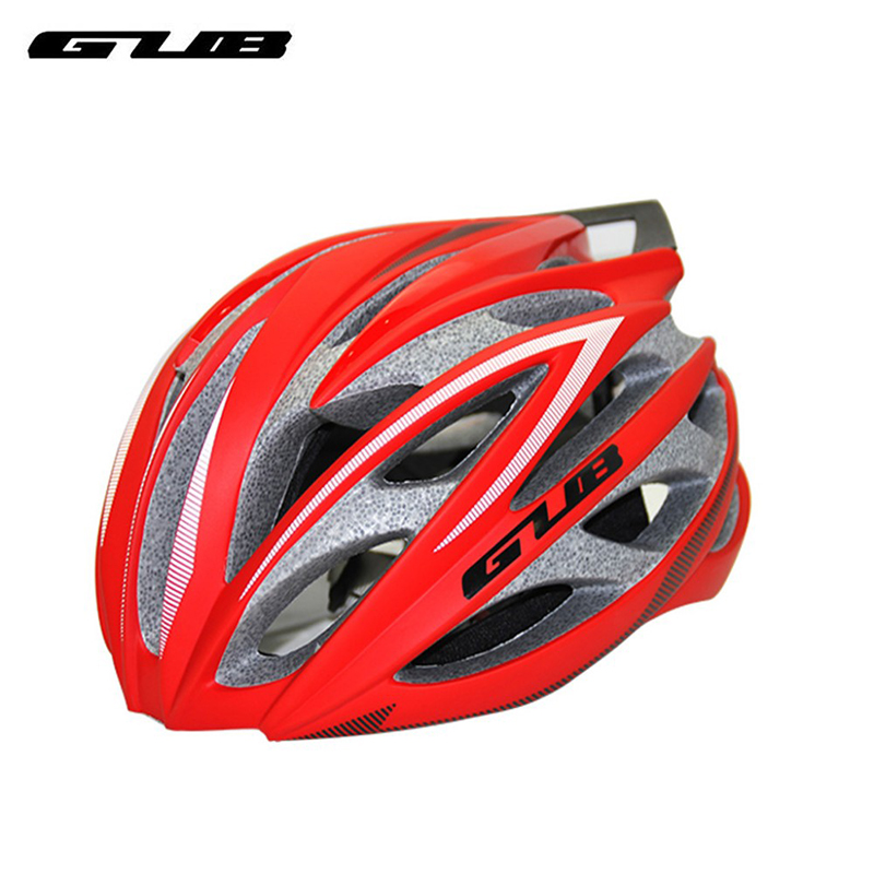 GUB SV8+ Bicycle Helmet With Carbon Empennage Integrally Molded Mountain Bike ESP PC 58-62 cm Ventilation Shock Absorption free shipping gub 26er mountain bike hub bicycle wheel 4palin bicicleta ultraleve vara de pode ser removido rapidamente