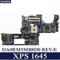 KEFU DA0RM5MB8D0 REV: E материнская плата для ноутбука Dell XPS 1645 тест оригинальная материнская плата поддержка I7 CPU