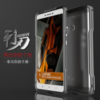 Luphie Luxury Metal Bumper Case For Xiaomi Mi Max Fashion Prismatic Aluminum Frame Fundas For Xiaomi