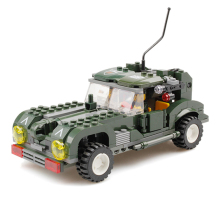 KAZI Military War Building Blocks Classic Army Vehicle DIY Construction Toys for Kid Bricks Compatible with lego
