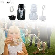 Cevent 10 шт./лот пустой баллон мыла бутылки Свадебные украшения Mariage Boda детская игрушка пузырей чайник, флисовая верхняя одежда для детей, игрушки