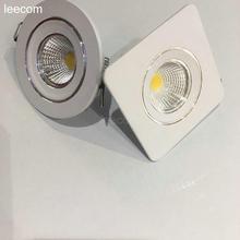 cree cob  Mini Led Spot Light 95/230v 10pcs/lot diameter 75mm Cabinet Lamp 3w High Power Warm White Indoor Lighting