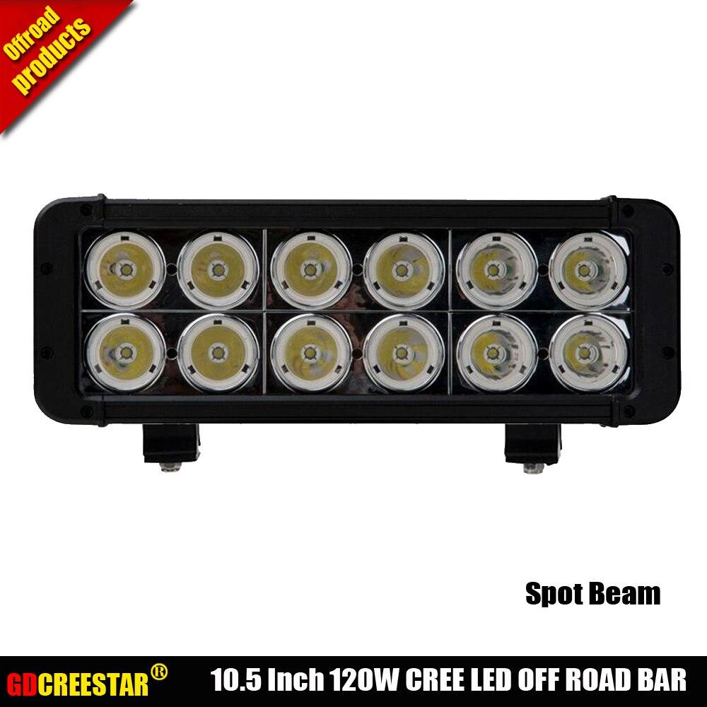 Auxtings 2 x 10,2 cm 48W LED spot lavoro luce di azionamento bar per Offroad SUV Truck 4WD
