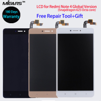 LCD Repair For Xiaomi Redmi Note 4 LCD Display Touch Screen Digitizer Assembly Frame For Redmi