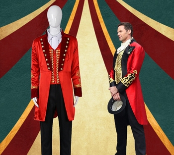 The Greatest Showman P. T. Barnum Full Set Customized Uniforms Costume Halloween Party Fashion Fit Figure Costume Drop Ship