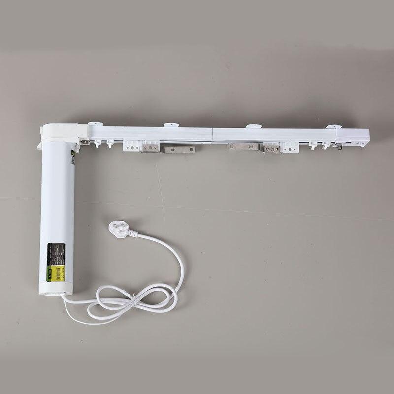 Cortina de wifi silenciosa envío gratis, longitud de 3,0 5,0 m, tamaño personalizado, control de aplicación directamente-in Persianas, cortinas y estores from Hogar y Mascotas    1