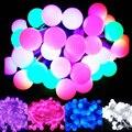 Multi-cor 20 m 200 Matte Bolas de Luz LED Corda Tira Luzes De Natal Para A Festa de Casamento Decoração de Casa 110 V/220 V UE/EUA/REINO UNIDO/AU