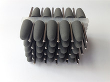 Hot selling dental lab  60 Pcs Dental Silicone Polishing Burs Rubber Polishers Diamond