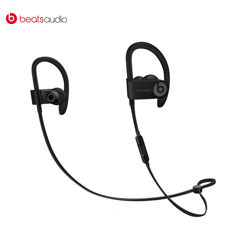 Earphones Beats Powerbeats3 Wireless bluetooth earphone Wireless headphone with microphone headphone for phone in-ear sport new original msur n650 wooden metal hifi music dj headphone headset earphone with beryllium alloy driver portein leather
