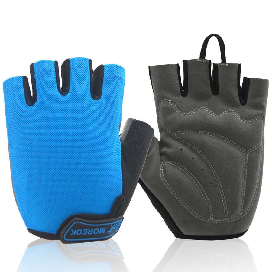 Half Finger Cycling Gloves for MTB Bicycle Men Women Gel Pad Breathable Bike Gloves Summer Sports Motorcycle Gym Gloves