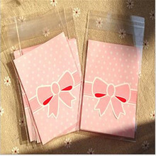 50pcs Plastic Cellophane Candy Cookie Bag Self Adhesive Pouch Birthday Christmas Wedding decoration wedding gifts for guests6z(China (Mainland))