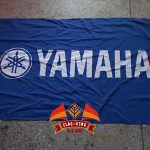 Флаг с логотипом yamaha, 90*150 см полиэстеровый баннер, король флагов