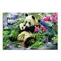 Panda scenic Needlework Square Embroidery Diy Diamond Painting Drill Rhinestone Full Pasted Pattern Decoration Paintings