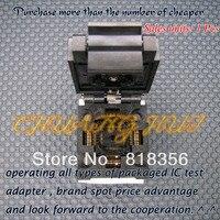 NUOVO FPQ-48-0.5-06 Presa/Programmer Adapter TQFP48 QFP48 PQFP48 IC Test Burn-In Presa 0.5mm Passo