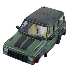 Image 4 - 1pcs Hard Plastic 313mm Wheelbase Body Car Shell for 1/10 RC Crawler Car Axial SCX10 & SCX10 II 90046 90047