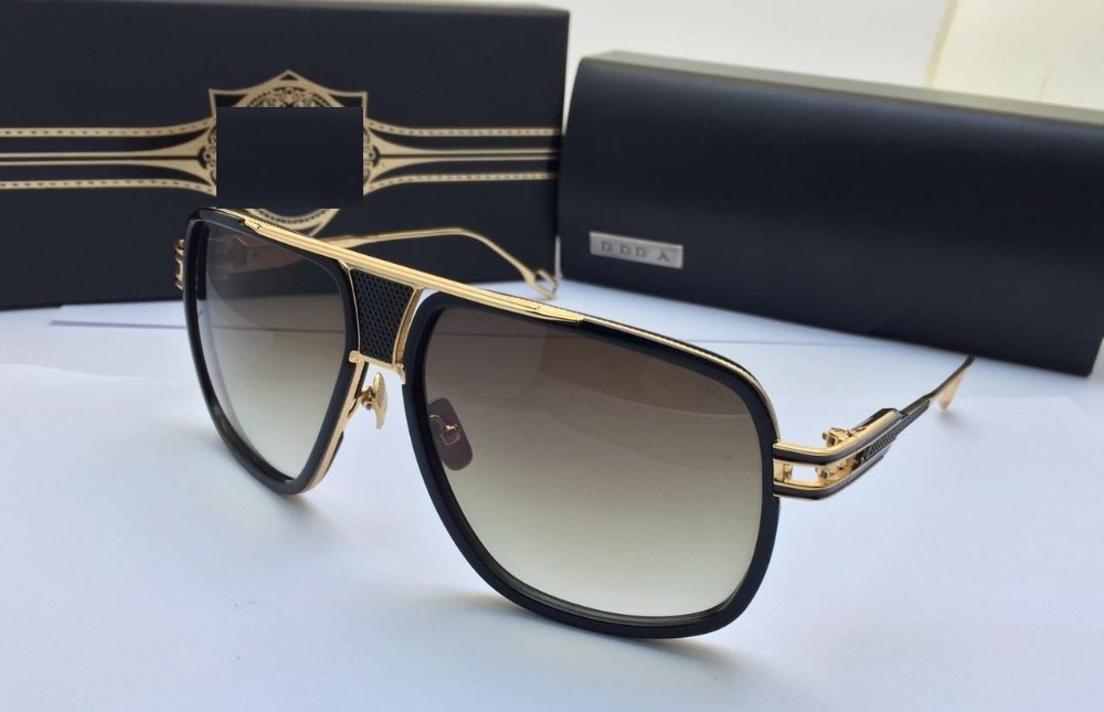 new sunglasses grandmaster five brand top quality 18k gold frame menwomen fashion design sunglasses exquisite with box