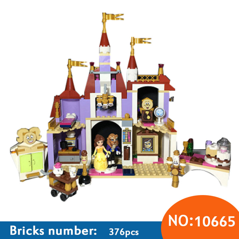 BELA 10565 Compatible with Friends Princess Belles Enchanted Castle 41067 Building Block Model Figure Educatio Toys For Children princess ponies 6 best friends for ever