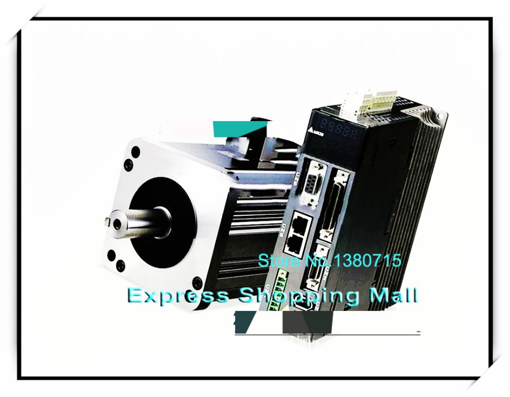 750W 220V 2.39NM 3000r/min ECMA-C10807SH ASD-A2-0721-M AC Servo Motor & Drive kits new asd a2 1f23 m delta ac servo drive 3ph 220v 15kw 70a canopen e cam with full closed control new