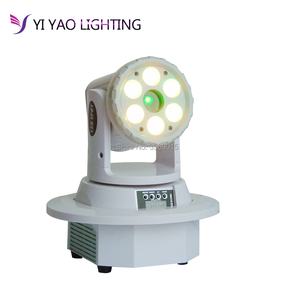 LED Moving Head Light 6X12W Mini Wash Stage Party Shows Equipments