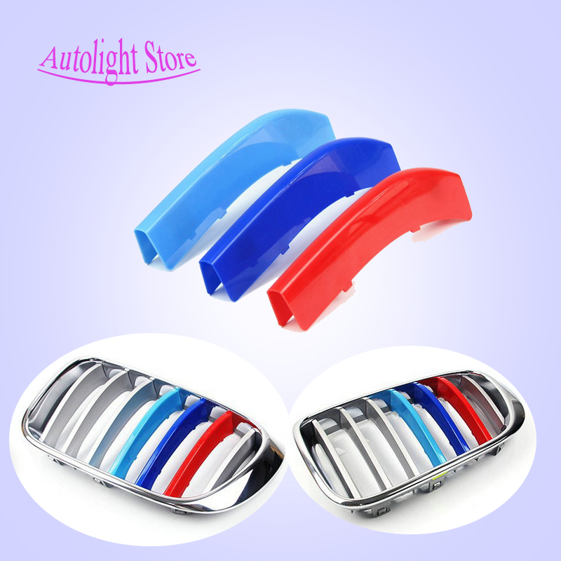 For Bmw 3 5 5gt Series X1 X3 X4 X5 X6 F30 F35 F10 F18 E70 E71 3 Colors 3d M Car Styling Front