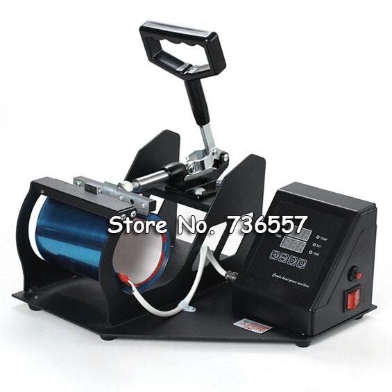 Portable Digital Cup Mug Heat Press Machine,Sublimation Mug Press printing digital heat transfer baking cup machine single display quaff