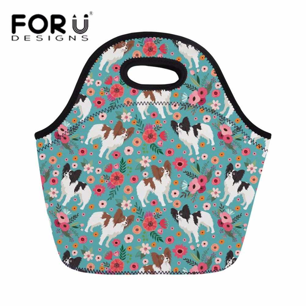 Luggage & Bags Beautiful Forudesigns Lunch Bag Thermal Lunch Box Women Handle Bags Tote Storage For Kids Girls Corgi School Lancheira Escolar Keep Worm Beautiful In Colour
