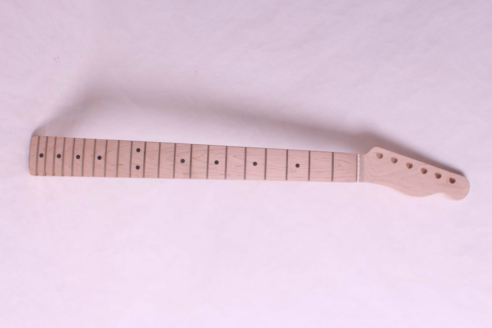 one right unfinished electric guitar neck maple made and maple fingerboard Bolt on 21 fret lp 24 75 inch 22 fret unfinished electric guitar body and neck mahogany made maple fingerboard high quality